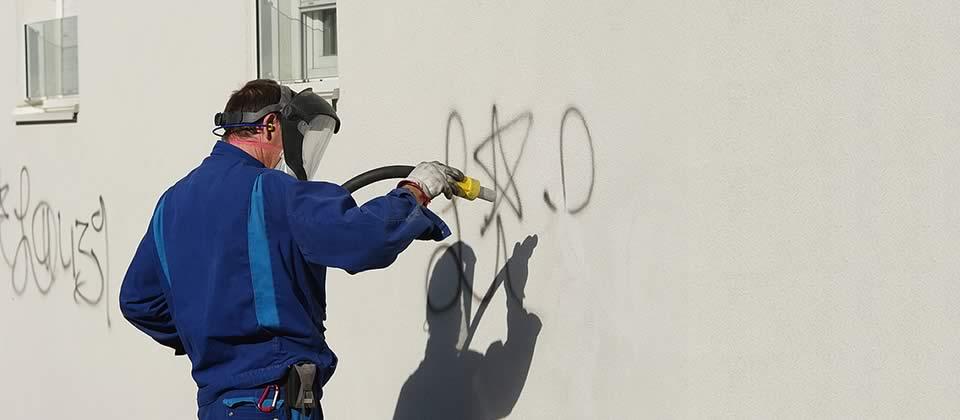 Graffitientfernung-Dortmund-Gebaeudereinigung-Erka2